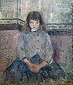 Bemberg Fondation Toulouse - Portrait de Felix en jupe - Camille Pissarro 1883 Inv.2079.jpg
