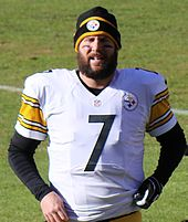 86957c596 Roethlisberger in 2015. See also  2015 Pittsburgh Steelers season