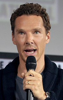 Benedict Cumberbatch English actor and film producer