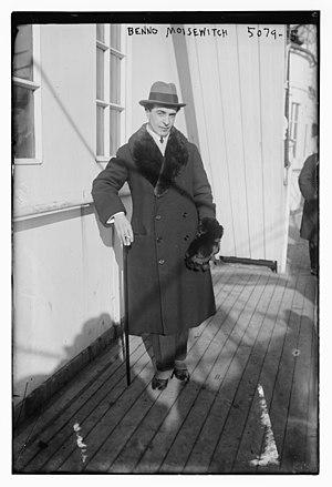 Benno Moiseiwitsch - Benno Moiseiwitsch in 1920