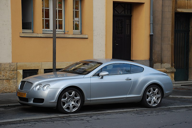 File:Bentley Continental GT-1.jpg