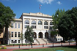 Benton County Courthouse, July 2011
