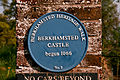 Berkhamsted Castle blue plaque.jpg