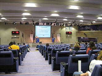 European Commission - Press Room in the Berlaymont