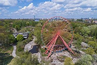 Spreepark - The Ferris wheel in 2017