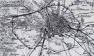 Berlin Ringbahn - Ring Railway in 1885