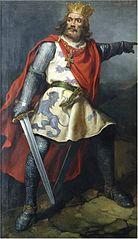 Retrato imaginario de Bermudo III de León.