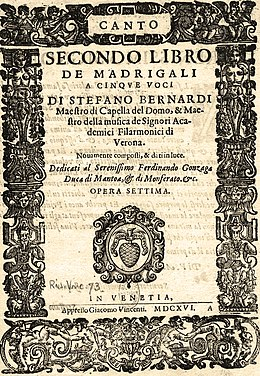 Bernardi Madrigal Book 2 Title page 1616.jpg