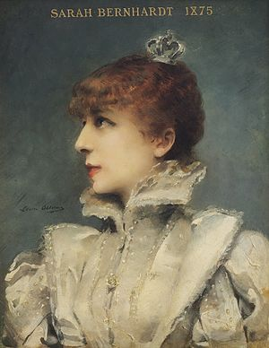 Louise Abbéma - Image: Bernhardt, Sarah (1844 1923) 1875 ritratta da Abbema, Louise (1858 1927)