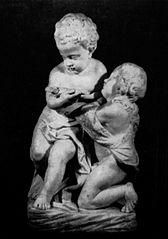 Dzieciątko Jezus i św. Jan Chrzciciel