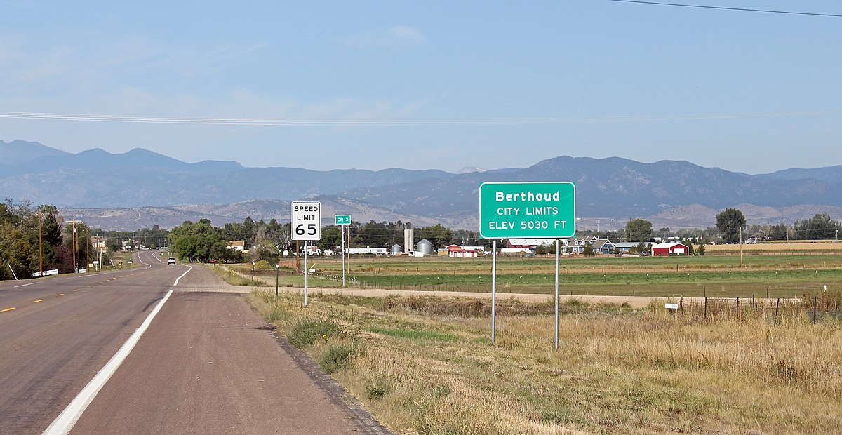 Berthoud colorado wikipedia for Best small cities to live in colorado