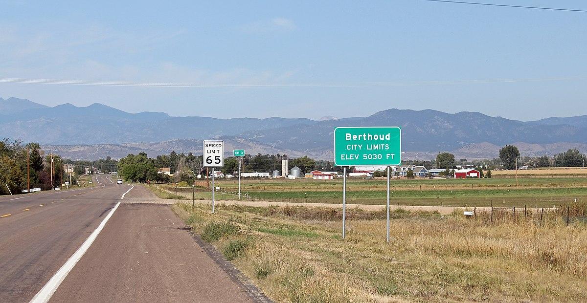 Berthoud, Colorado   Wikipedia