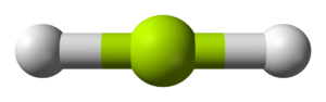 Beryllium hydride - Structure of gaseous BeH2.