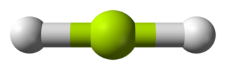 Beryllium hydride - Structure of gaseous BeH2.