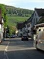 Besançonallee in Freiburg-Sankt Georgen mit Schönberg.jpg