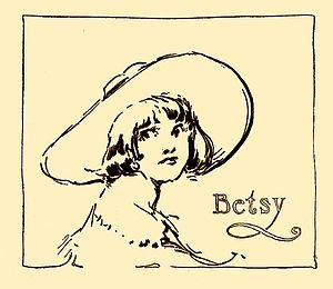Betsy Bobbin - John R. Neill's portrait of Betsy Bobbin