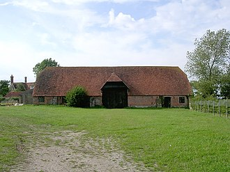 Grade II* listed buildings in New Forest (district) - Image: Beufre Barn at Beufre Farm, Beaulieu, New Forest geograph.org.uk 36411