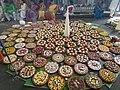 Bhog,decorated sweets and food in Shakta rash 5.jpg