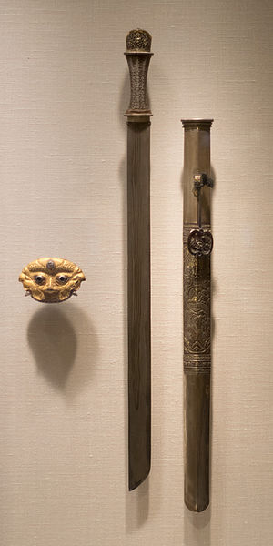 File:Bhutanese sword and scabbard.jpg