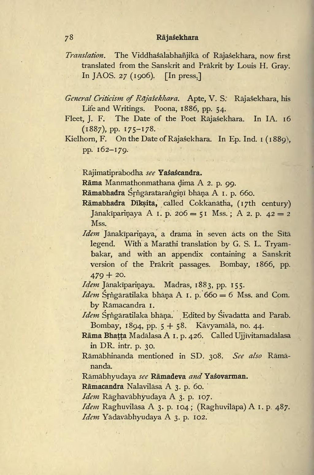 Page:Bibliography of the Sanskrit Drama djvu/98 - Wikisource