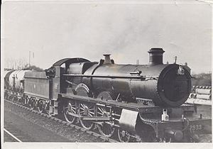 GWR 2900 Class - 2933 Bibury Court