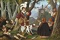 Bilderuhr Maximilian I mit den Räubern.jpg