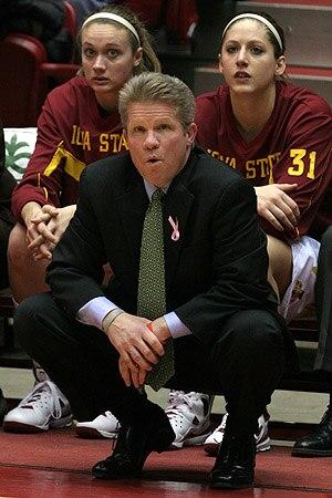 Iowa State Cyclones women's basketball - Image: Bill Fennelly 5616 300x 450