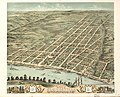 Bird's eye view of the city of Clarksville, Montgomery County, Tennessee 1870. LOC 73694527.jpg