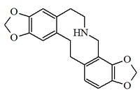 Bis 1,3 benzodioxolo 4,5-c 5',6'-g azecina.png