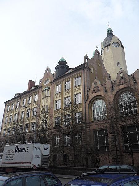 Bismarckstraße Nürnberg file bismarckschule nürnberg veilhof bismarckstraße 20 16 jpg wikimedia commons