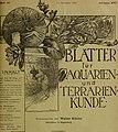 Blätter für Aquarien- und Terrarien-Kunde (1905) (20200061410).jpg