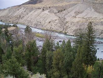 Yellowstone River - Image: Black Canyon of the Yellowstone Near Gardiner Montana