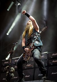Zakk Wylde live mit Black Label Society beim Wacken Open Air 2015