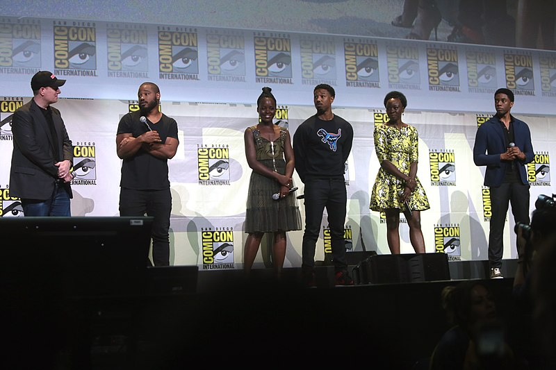 Black Panther cast by Gage Skidmore.jpg