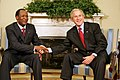 Blaise Compaore with George Bush July 16, 2008.jpg