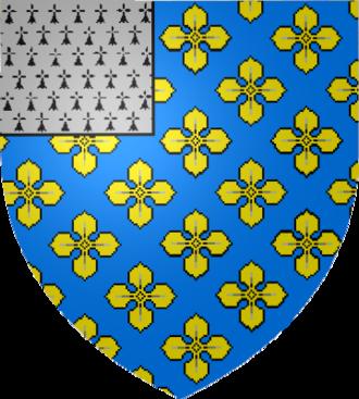 Louis Phélypeaux, comte de Pontchartrain - Image: Blason Maurepas