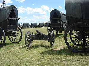 Battle of Blood River - Laager at the Blood River Memorial
