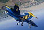 Blue Angels pilot performs a diamond dirty loop.jpg