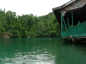 Sam Harper - Blue Lagoon in Port Antonio, Jamaica. Harper performed here as a youth.