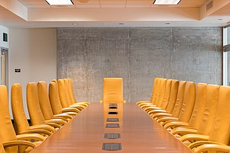 Board of directors - Typical board room setting
