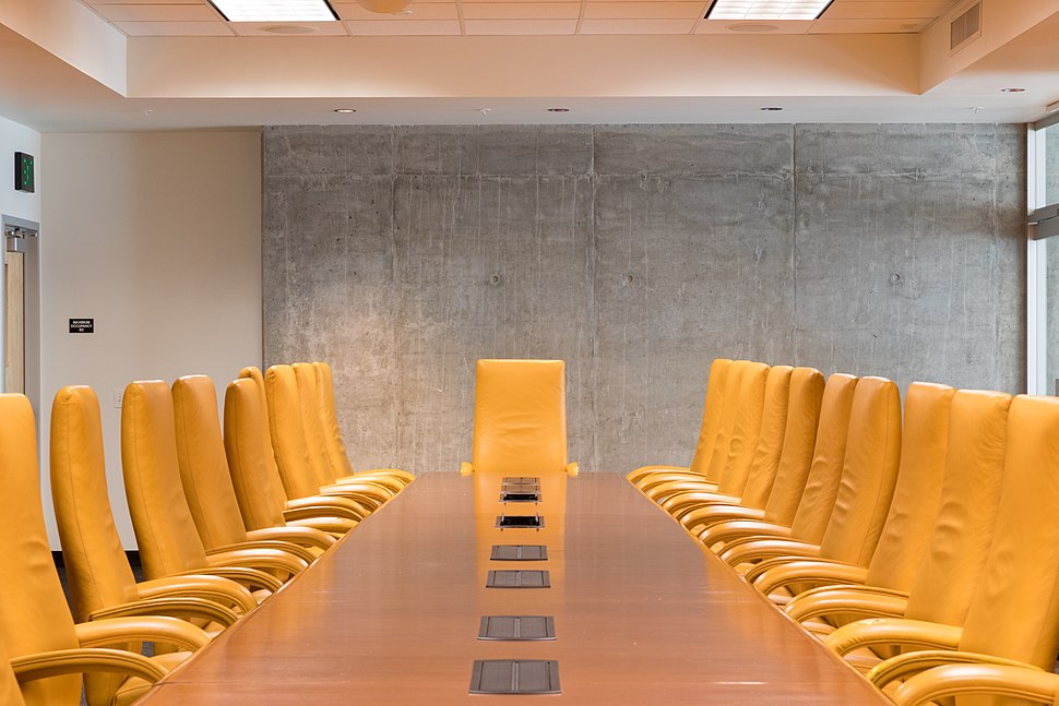 Board room at the Walter Cronkite School of Journalism and Mass Communication