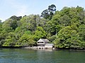 Boathouse on the River Dart, below Greenway House-geograph-1880770.jpg