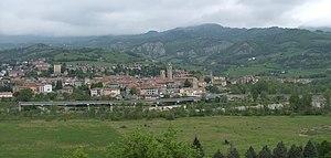 Bobbio - View of Bobbio