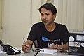 Bodhisattwa Mandal Talks - West Bengal Wikimedians Strategy Meetup - Kolkata 2017-08-06 1648.JPG