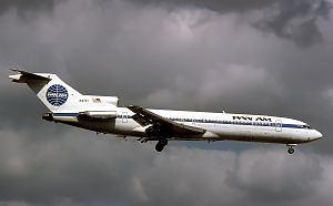 Pan Am Flight 759 - A Pan Am Boeing 727-200 similar to the aircraft involved in the accident.
