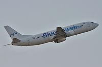 YR-BAO - B734 - Blue Air