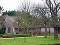 Boerderij. Bloemendaalseweg 56 in Gouda. Hooiberg en varkensstal..jpg