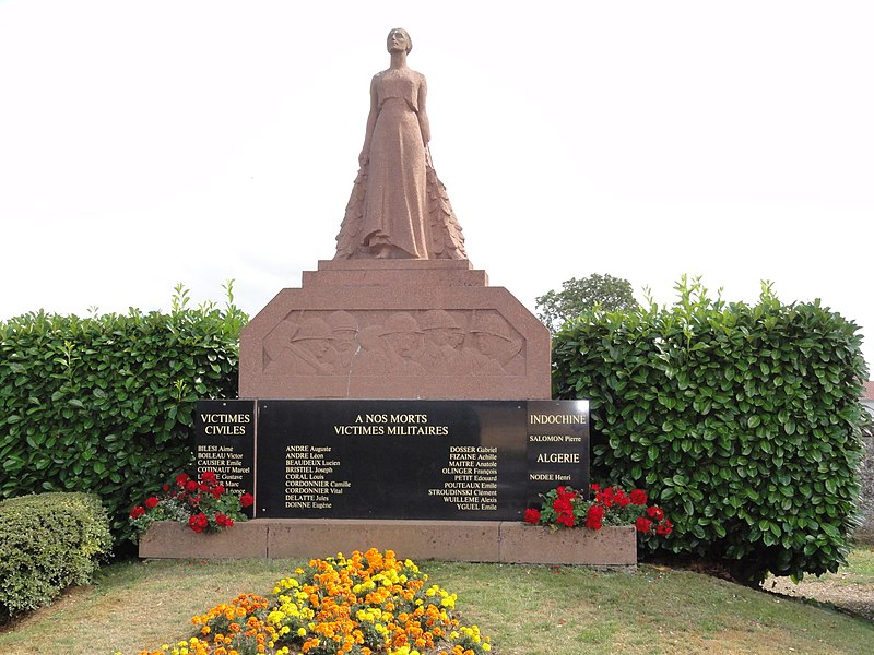 Boismont (Meurthe-et-M.) monument aux morts