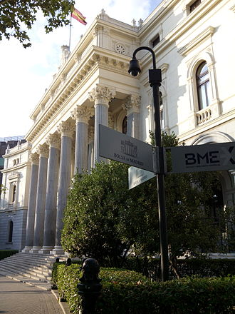 Bolsa de Madrid - Bolsa de Madrid 2014