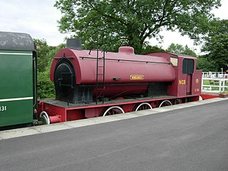 Embsay and Bolton Abbey Steam Railway - No.S134 Wheldale at Bolton Abbey. 5 August 2006.
